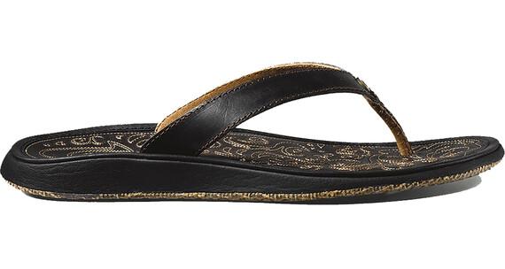 OluKai W's Paniolo Sandals Black / Black